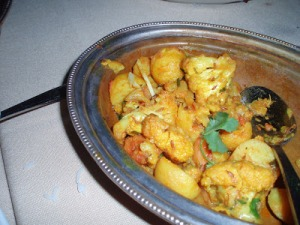 Aloo Gobi courtesy of Mae